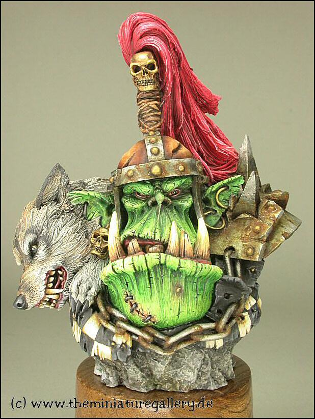Forgeworld Ork Warlord Bust, 2nd try!